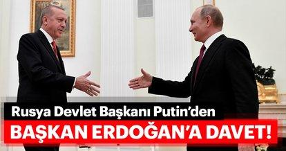 Rusya Devlet Başkanı Putin Cumhurbaşkanı Erdoğan'ı Kırım'daki camii açılışına davet etti