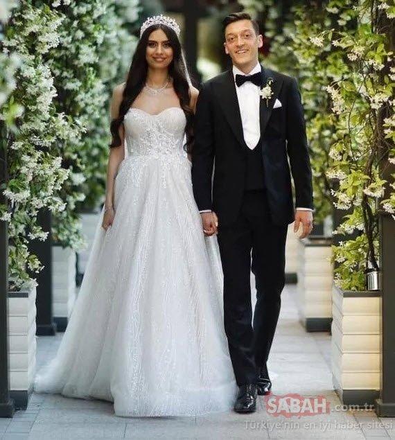 Amine Gülşe ve Mesut Özil'in düğününe ünlü isimler akın etti!