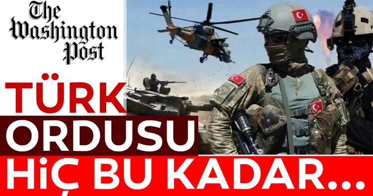 Washington Post yazdı! Türk ordusu ilk kez bölgesel etki alanını böylesine genişletti