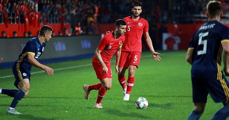 Türkiye - Bosna Hersek maçında gol sesi çıkmadı