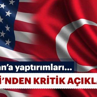 Son dakika: Türkiye ile ABD heyeti arasında İran yaptırımları görüşme