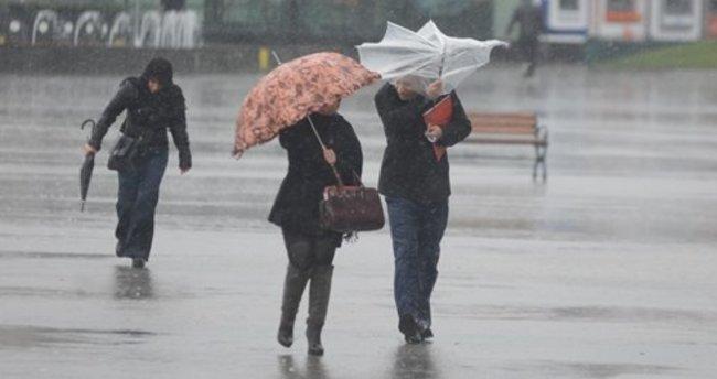 Meteoroloji'den 10 il için fırtına uyarısı