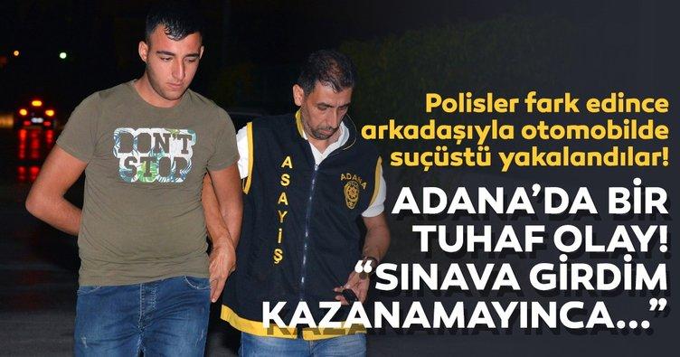 Adana'da sahte bekçi polise yakalandı