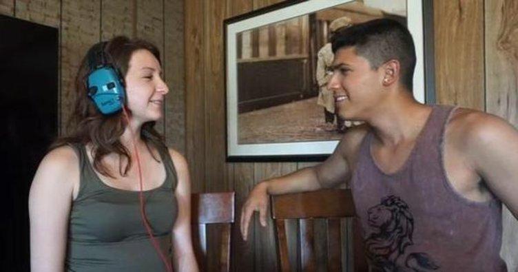 Hamile kadın YouTube yayınında sevgilisine silah doğrulttu ve...