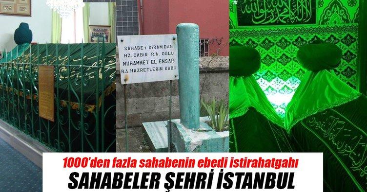 Sahabeler şehri İstanbul