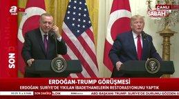 Beyaz Saray'da Hilal Kaplan'dan ABD Başkanı Trump'a zor soru!