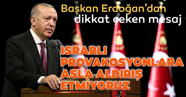 Başkan Erdoğan:  Sorunları diyalog yoluyla bir çözüme kavuşturmak niyetindeyiz