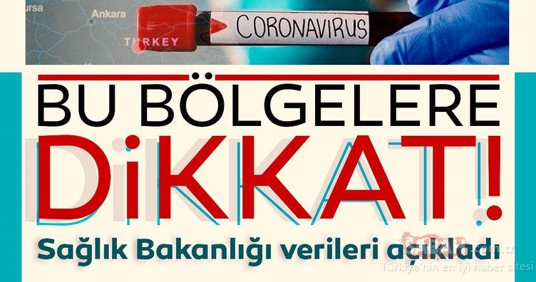 Son dakika haberi: Sağlık Bakanlığı Korona virüs vaka sayılarını açıkladı! Bu bölgelerde yaşayanlar...