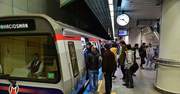 Metro kaçta kapanıyor? 2019 Metro açılış ve kapanış saatleri