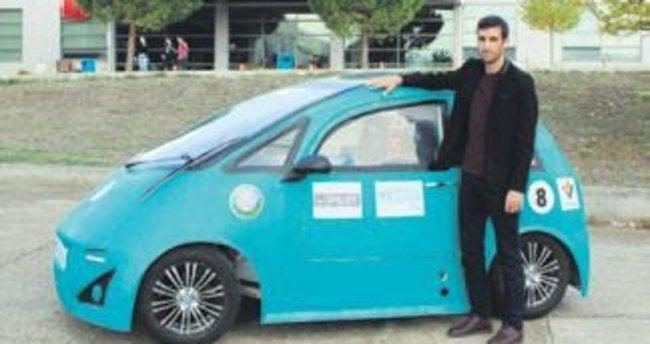 Harika çocuklar elektrikli otomobil üretti