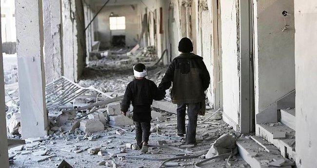 Şam'da okula saldırı
