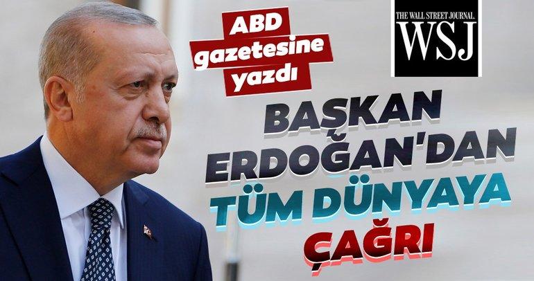 Başkan Erdoğan ABD basınına yazdı