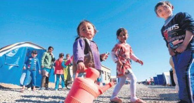 Musul'da 500 bin kişi su sıkıntısı içinde