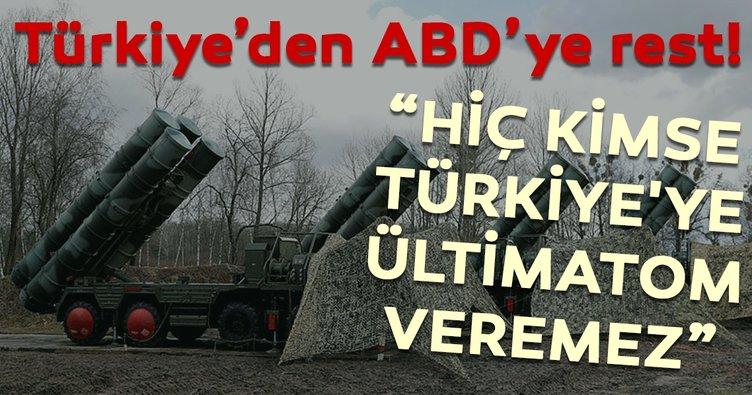 Son dakika: Çavuşoğlu'ndan ABD'nin skandal S-400 mektubuna tepki!
