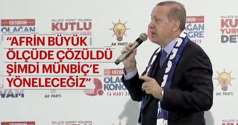 Erdoğan'dan kritik Zeytin Dalı Harekatı'na ilişkin önemli açıklama!