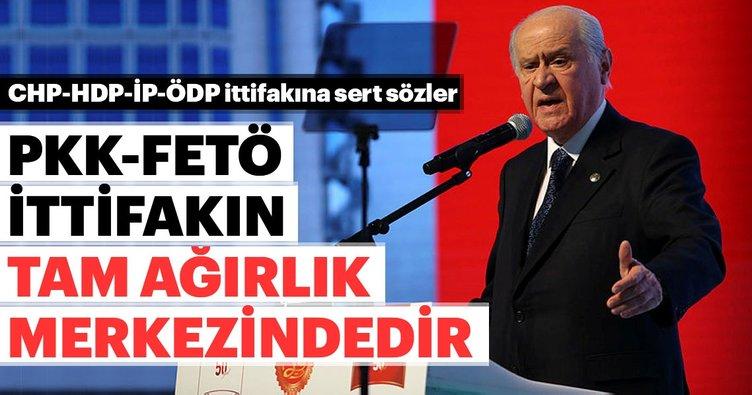 MHP lideri Devlet Bahçeli'den zillet ittifakına çok sert tepki!