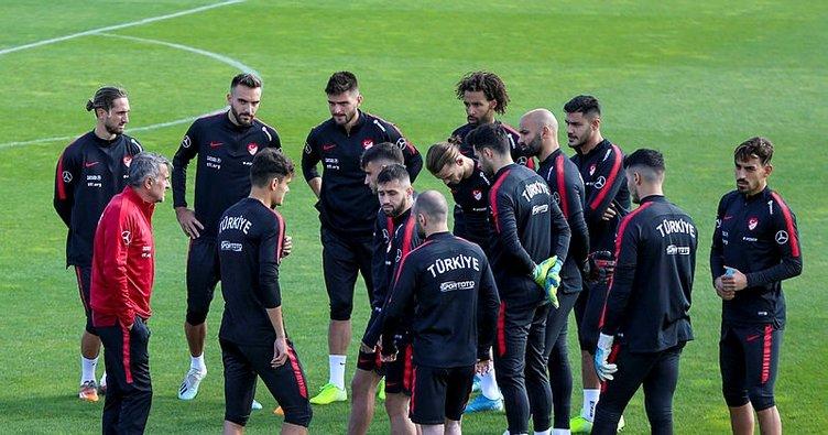 Milli takım, Fransa maçı hazırlıklarına başladı