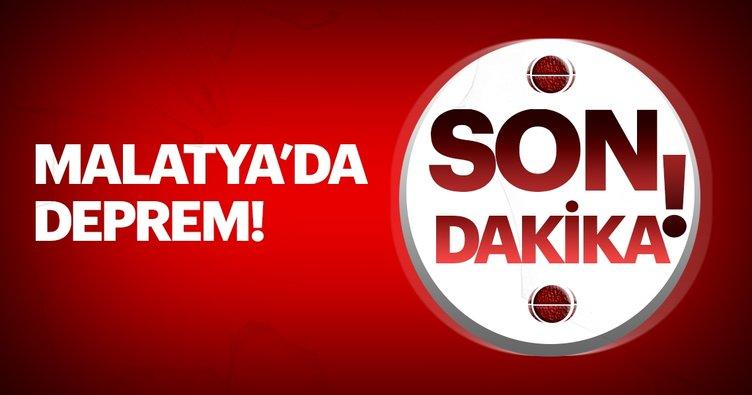 Son Dakika - Malatya'da şiddetli deprem oldu! Haftanın ilk günü Malatya sarsıldı; işte son depremler...