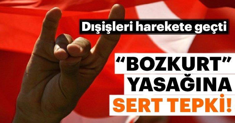 Dışişleri Bakanlığı'ndan Avusturya'ya `Bozkurt` işareti tepkisi