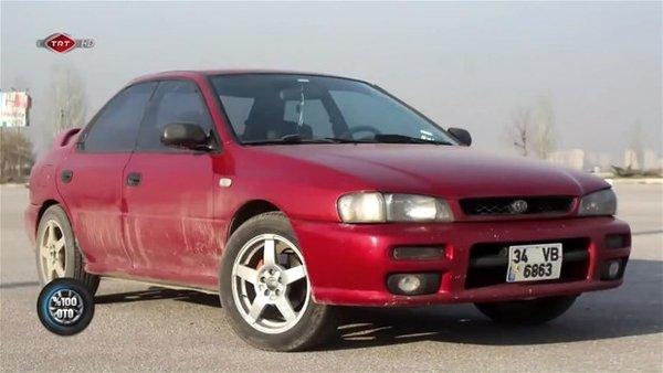 20 yıllık Subaru otomobili bakın nasıl değiştirdiler
