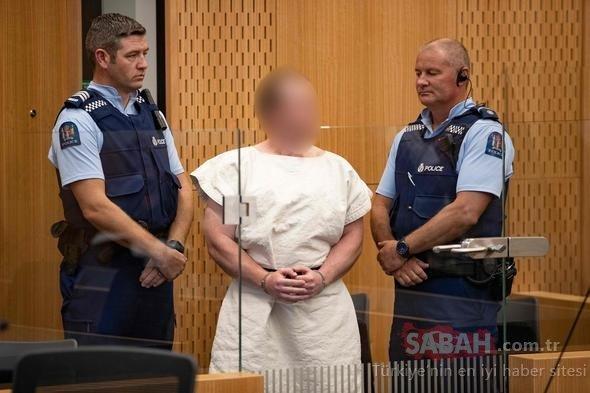 Yeni Zelanda cami saldırısını düzenleyen terörist mahkemede bunu yaptı!