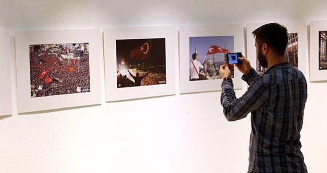 15 Temmuz O An'lar fotoğraf sergisi açıldı