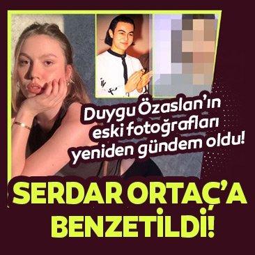 Duygu Özaslan'ın eski fotoğrafları sosyal medyada yeniden gündem oldu! Serdar Ortaç'a benzetildi!