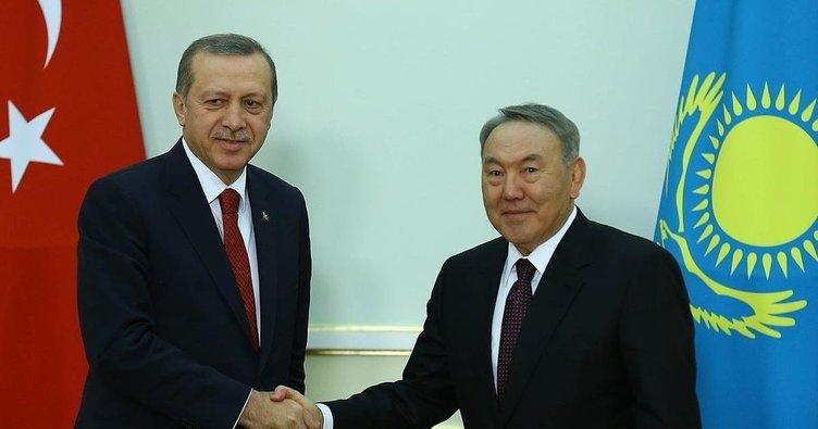 Kazakistan'dan Erdoğan'a tebrik mesajı!