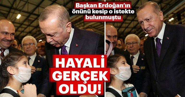 Cemre Yılmaz'ın hayali gerçek oldu! Başkan Erdoğan'dan önünü kesip o istekte bulunmuştu....
