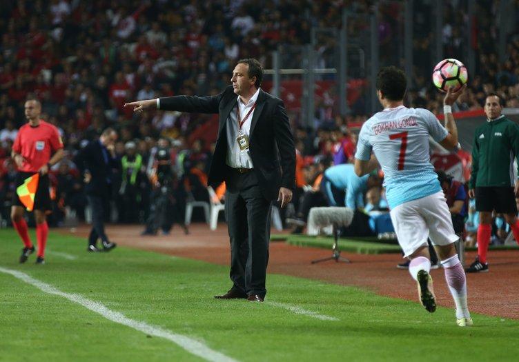 Türkiye Kosova maçından kareler