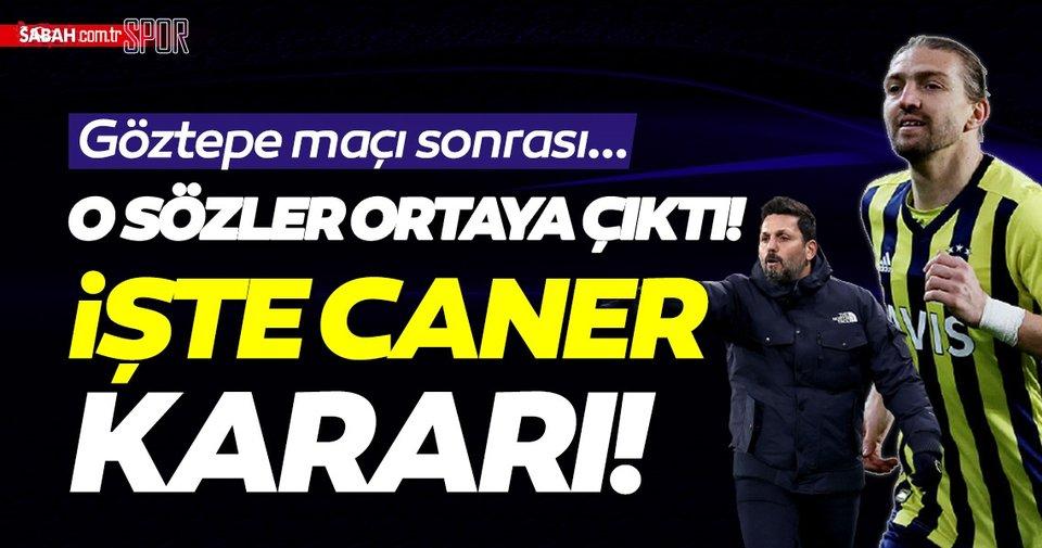 Son dakika! Erol Bulut ile Caner Erkin arasında neler oldu? Samandıra'dan son dakika Fenerbahçe haberleri… - Sabah