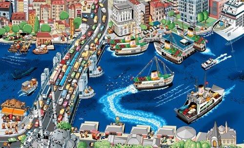 Google Earth'ün karikatür hali