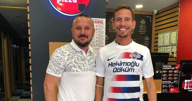 Joao Pereira Hekimoğlu Trabzon formasını giydi!