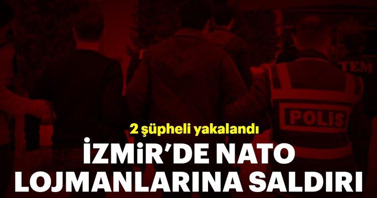NATO lojmanlarına saldırı, 2 şüpheli yakalandı