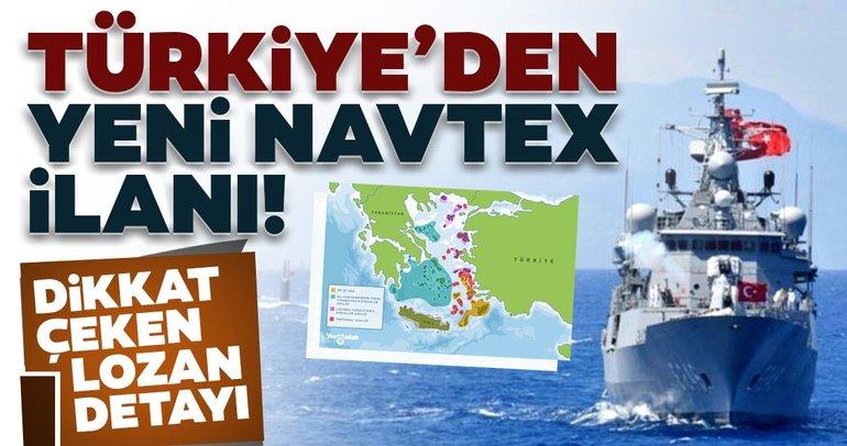 SON DAKİKA!  NAVTEX'in Türkiye'den yeni reklamı: Lozan detaylara dikkat çekti