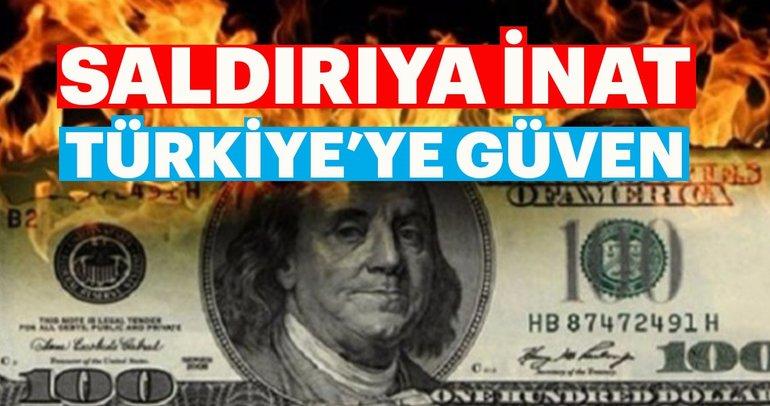 Saldırıya inat Türkiye'ye güven