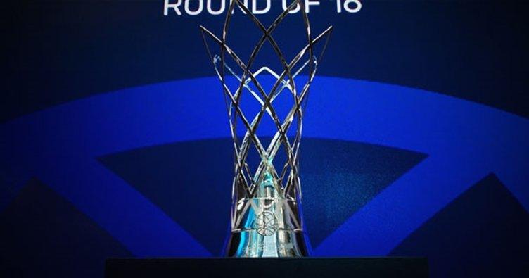 FIBA Şampiyonlar Ligi son 16 turunda rakipler belli oldu