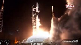 Son dakika! TÜRKSAT 5A uydusu Elon Musk'ın şirketi Space X firmasına ait Falcon 9 roketi ile uzaya gönderildi   Video