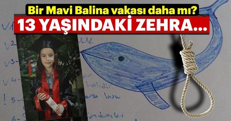 13 yaşındaki kız çocuğunun intiharında Mavi Balina şüphesi
