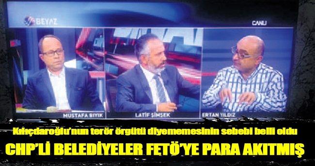 CHP'li belediyeler FETÖ'ye para akıtmış