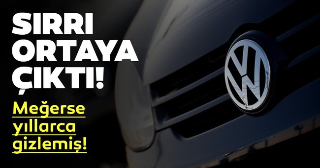 Volkswagen'in sırrı ortaya çıktı! Yıllardır gizliyordu ancak...