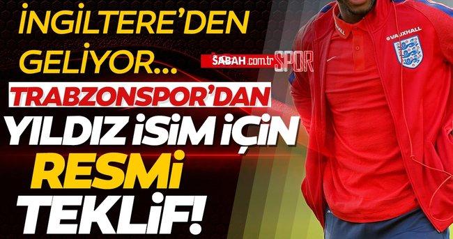 Son dakika: Trabzonspor İngiliz yıldız Danny Rose ve kulübüne resmi teklifte bulundu! Sabah.com.tr Özel