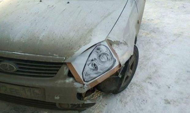 Türk usülü 20 Araba tamiri örneği
