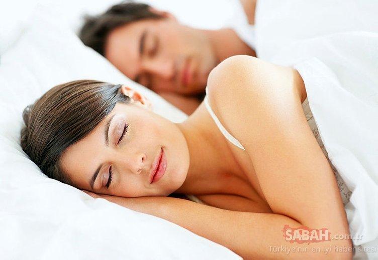 Uyku problemi yaşayanlar dikkat! İşte çözümü...