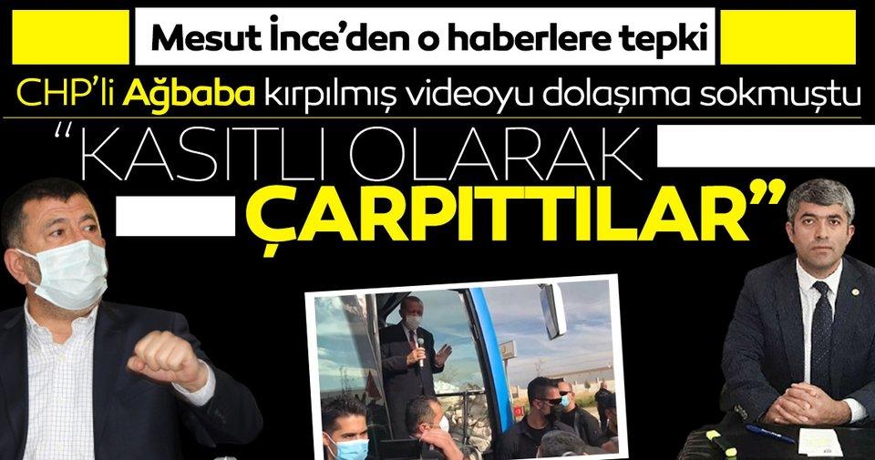 Mesut İnce'den Başkan Erdoğan ile yaşanan diyaloglarının çarpıtılmasına tepki! 'Kasıtlı olarak çarpıttılar'