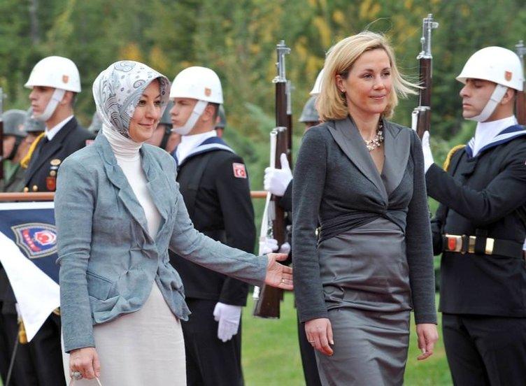 Almanya Cumhurbaşkanı Wullf'e resmi karşılama
