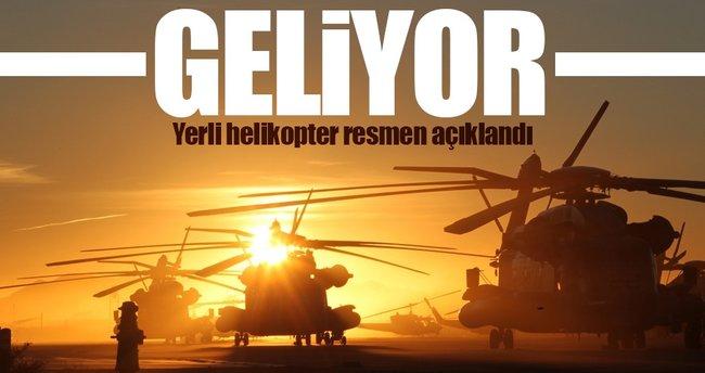 Yerli helikopter için AR-GE başladı!