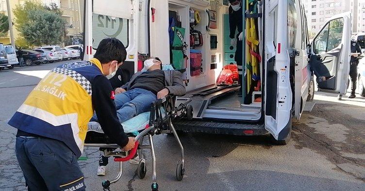 Sevgilisini rahatsız eden kişiyi ayaklarından vurdu