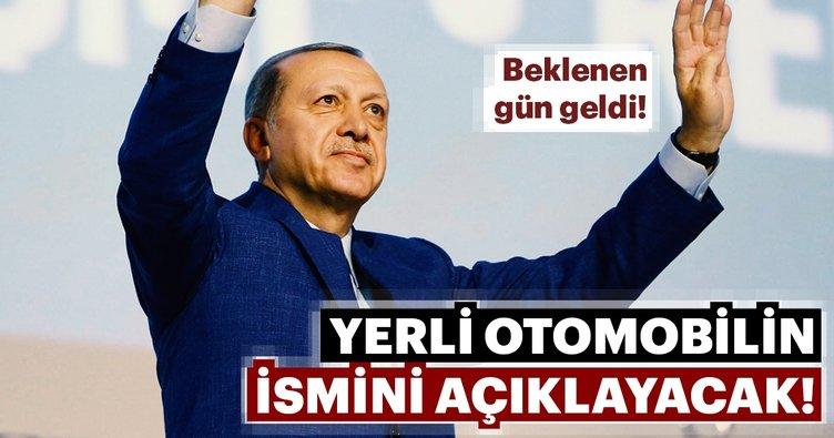 Cumhurbaşkanı Erdoğan, 11 Mayıs'ta yerli otomobilin ismini açıklayacak