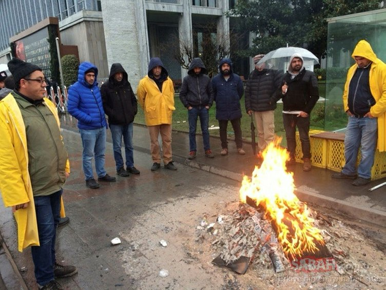 İBB'den işten çıkarılanlar ve hayvanseverler soğuk havaya rağmen eylemlerine devam ediyor